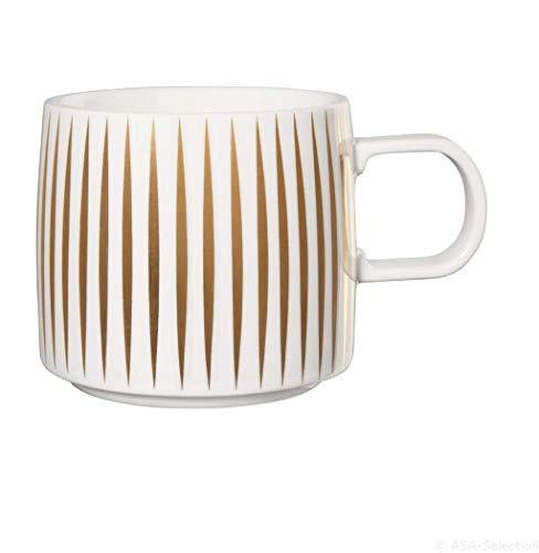 ASA 29060425 Tasse en porcelaine Blanc/doré