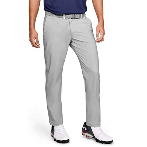 Under Armour 2020 EU Performance Golf Slim Taper - Pantaloni elasticizzati, Halo Grey, 36W/30L