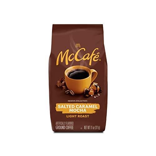 McCafé Mocha Magic Salted Caramel Mocha Light Roast Ground Coffee (11 oz Bag)