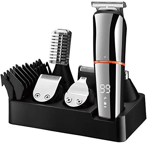 SURKER Beard Trimmer for Men Hair Clippers Body Mustache Nose Hair Groomer Cordless Precision product image