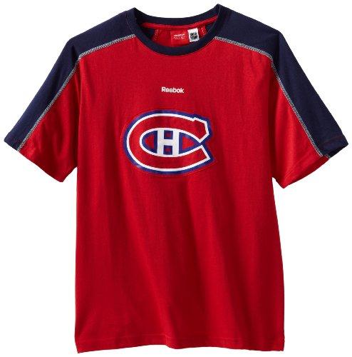 Reebok NHL Montreal Canadiens kurzärmliges Team-Trikot, Herren, Montreal Kanadien, XX-Large