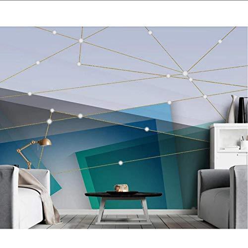 3D behang abstract geometrisch muur muurschildering waterdicht canvas voor woonkamer huisdecoratie luxe foto muur papier rollen op maat MRQXDP Papel de Parede 280x424cm