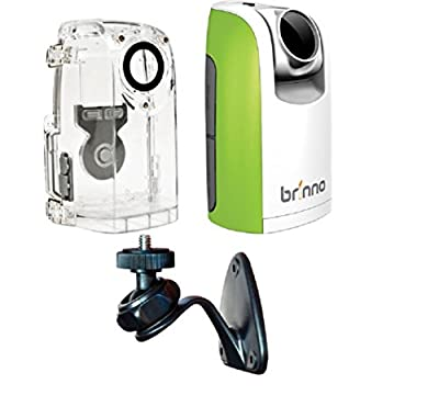 Brinno TLC200 Time Lapse and Stop Motion HD Video Camera - Green (BCC50 2016 Bundle) by Brinno