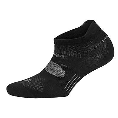 Balega Hidden Dry Moisture-Wicking Socks For Men and Women (1 Pair), Black, Small