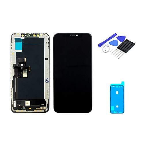 Scherm zwart (5,8 inch) compatibel met iPhone XS | OLED-scherm incl. DIY reparatieset