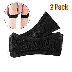 Auidy_6TXD 2 Stück Patella Kniebandage Knieband Verstellbarer Knie-Strap zum Laufen für Laufen Klettern Volleyball Fußball Basketball