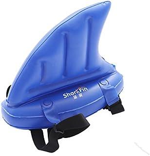 Kids Swim Shark Fin Inflatable Rings for Swim Beginner Swimming Aid by Aogolouk