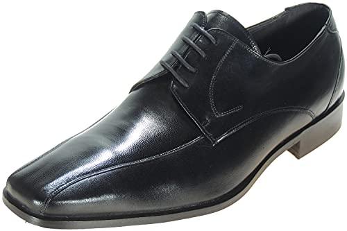 OCALINOS 3245 Zapato Blucher Piel y Piso Cuero de Etiqueta en Ancho Normal para Hombre