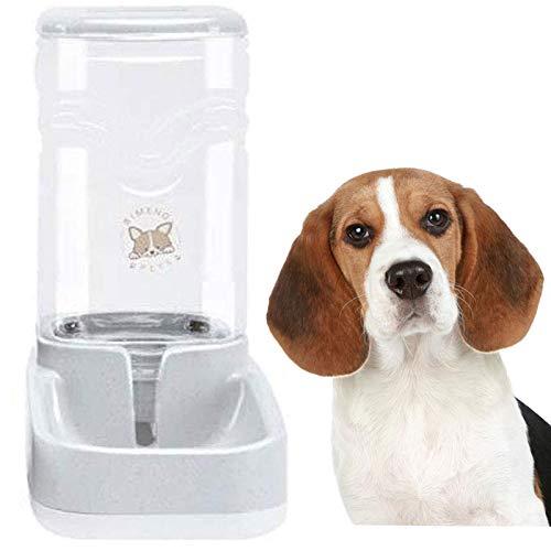 meleg otthon Automatischer Wasserspender für Katzen und Hunde, 3.8 L Wasserspender im Set,Hundenapf Tränkeautomat für Katzen Geeignet für kleine bis mittelgroße Haustiere (Wasserspender)