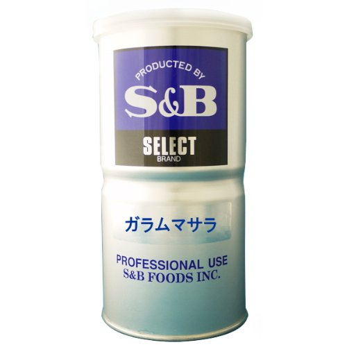 S&B エスビー ガラムマサラ 缶350g