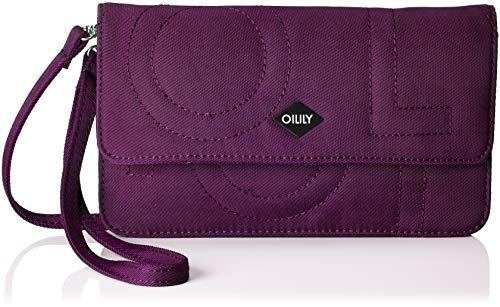 Oilily Damen Spell Clutch Mhf, Violett (Purple), 4x12x22 cm