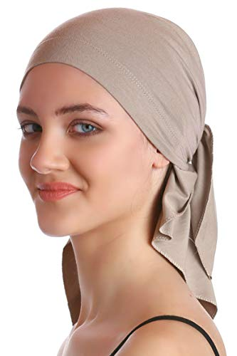 Deresina Unisex Bandana Fur Haarverlust (Umber)