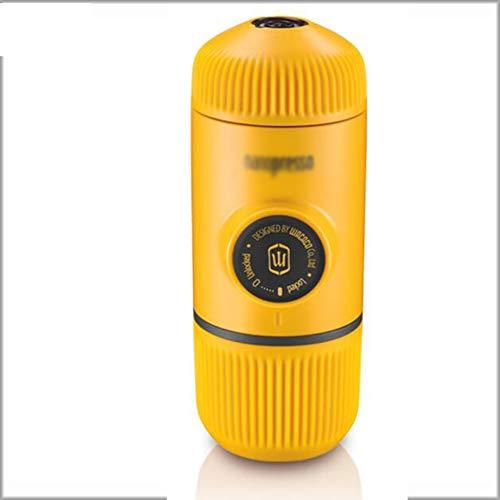 JGSDHIEU Kaffeemaschine Tragbare manuelle Kaffeemaschine Outdoor Travel Handpresse Pulver/Kapsel Kaffee 80ml