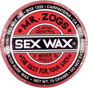 Sex Wax Original Assorted Colors Warm/Tropical Water Surf Wax