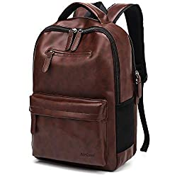 AirCase C34 25 Ltrs Laptop Backpack | 15.6 Inch Laptop Bag for Men & Women - Brown,AirCase,C34