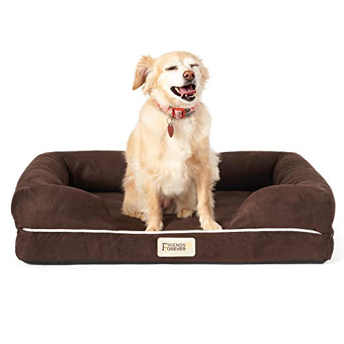 SCM Orthopädisches Hundebett Tierbett Memory Foam Hundesofa Dog Bed Premium Prestige Edition Hundekorb gelenkschonend, weich