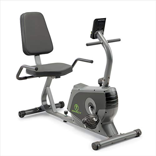 Marcy Recumbent Exercise Bike Adjustable Magnetic Resistance | NS-1206R