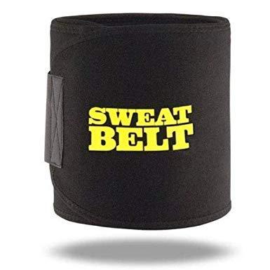 KPM® Sweat Belt Fat Burner Slimming Belt for Men & Women (Free Size)