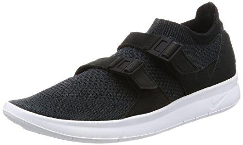 Nike Uomo Air Sockracer Black Anthracite Flyknit Sneakers 8½