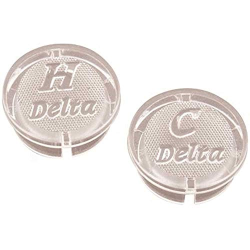 DELTA GIDS-133904 Delta Hot and Cold Index Button Set, 3/4