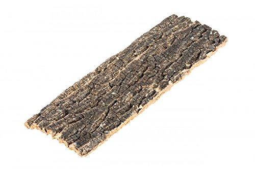 NaDeco Korkeiche Natur 30x10cm Korkplatte Korkrinde Baumrinde Dekorieren Cork Tile