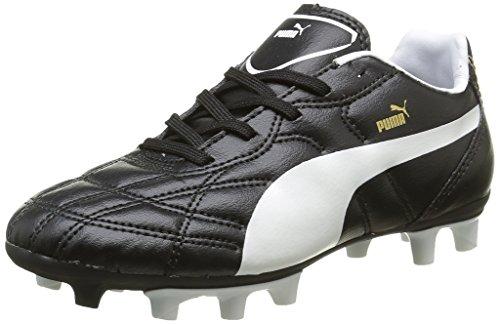 Puma Classico Ifg Jr - Zapatillas de fútbol unisex para niños, color negro (black 01), talla 37 EU (4UK)