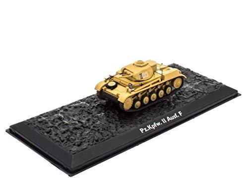 Atlas Edition Ultimate Tank Panzer II AUSF.F Fertigmodel Maßstab 1:72 Die-Cast Metall
