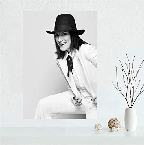FGVB Póster de Laura Pausini, Arte de Pared, decoración de habitación, Pintura, decoración de Sala de Estar, decoración del hogar, impresión, 60 × 90 cm, sin Marco