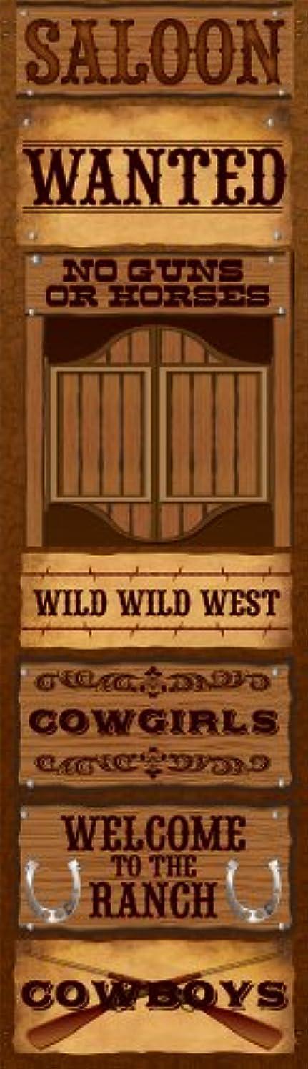 Reminisce Celebration Series Western Signs Chipboard Sticker