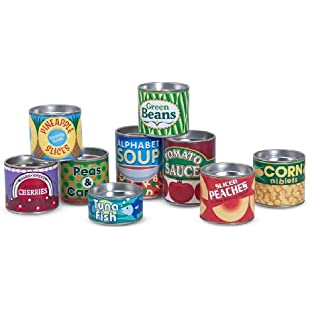 Melissa & Doug Let's Play House Grocery Cans:Hitspoker