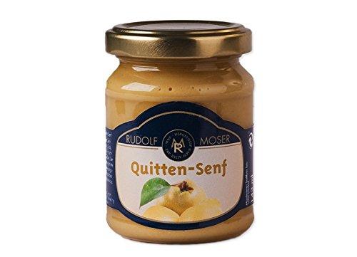 Rudolf Moser's ★ Quitten Senf ★ Premium Qualität ★ 140ml