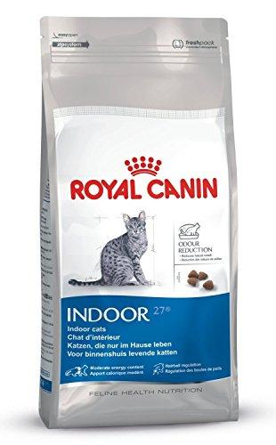 Royal Canin Indoor 27 Trockenfutter für ausgewachsene Katzen, 4 kg
