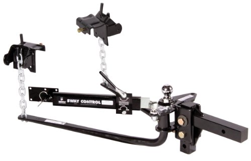"""Husky 31995 600LB Weight Distribution Hitch with Sway Control and 2"""" Ball"""
