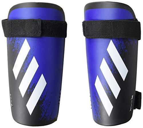 adidas Adult X 20 Training Shin Guards, Black/Team Royal Blue, X-Small