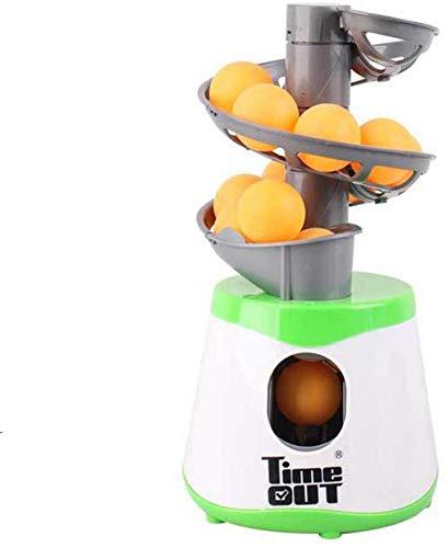 Tavolo Tennis da Ginnastica Robot, Tennis da Tavolo Palla Macchina, Automatico Tennis da Tavolo Sfera Lanciatore Tennis da Tavolo Sfera Lanciare Macchine con 10 Palla Sports Equipment Scarpe Sportive