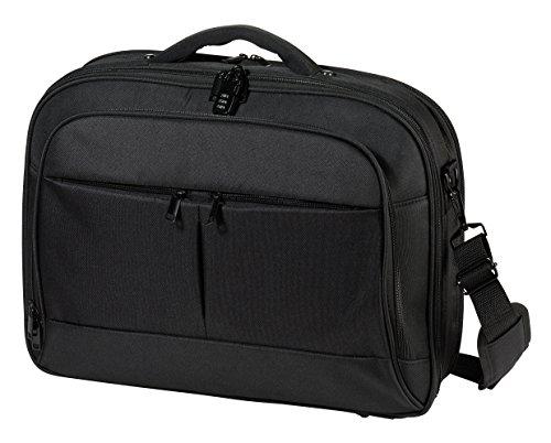 Vivanco NB PROF1 17.3 Business Notebook Tasche (43,9 cm (17,3 Zoll), Schloss, Trolleyband, Organizerfunktion) schwarz