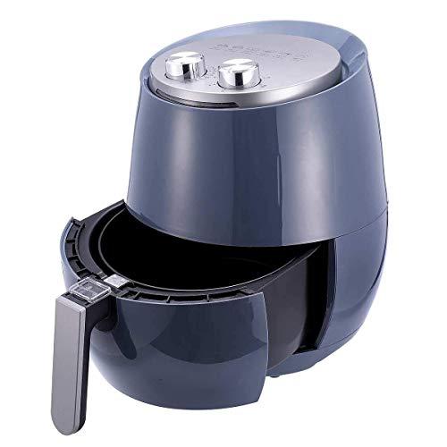 Luftfritteuse,3,6 l ölfreie elektrische Friteuse mit Timer und Temperaturregler,Antihaftbeschichtung,zum Braten,Grillen und Backen aller Lebensmittel