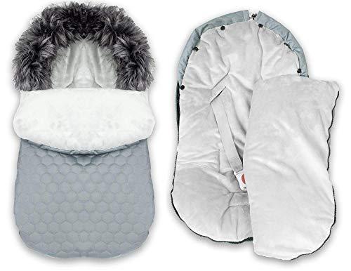 BlueKitty Fußsack, 0-13 kg, Winterfußsack, Kinderautositz, Kinderwagensack, Schlafsack, Wassht, Wasserabweerdicisend, Winter, Herbst, 85 cm