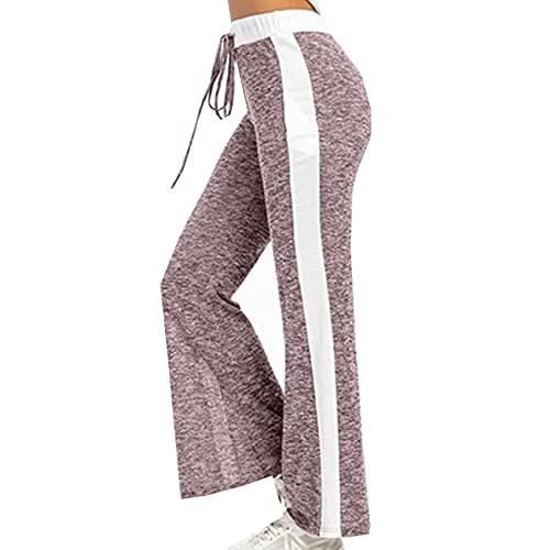Primavera Y Verano Pantalones Anchos Casuales Pantalones Estampados De Moda Ropa De Mujer