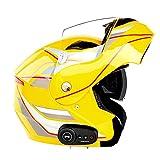 Bluetooth Casco Integral Casco Moto Cascos...