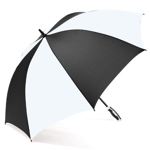 ShedRain Umbrellas Luggage RainEssentials Golf Classic Umbrella, Black/White, One Size