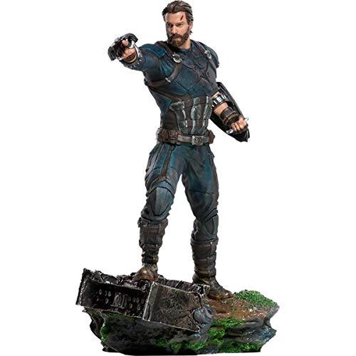 Iron Studios Avengers: Infinity War Captain America Art Scale 1:10 Battle Diorama image