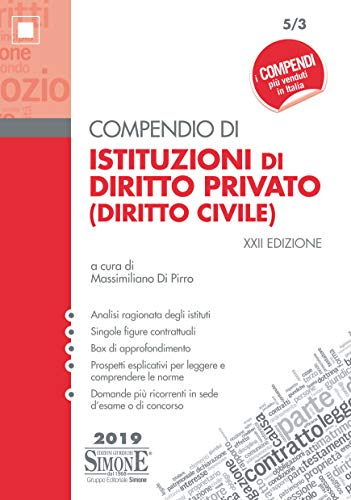Compendio di istituzioni di diritto privato (diritto civile)