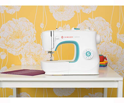SINGER | M3300 Sewing Machine with 97 Stitch Applications, & 1-Step Buttonhole - Perfect for Beginners - Sewing Made Easy