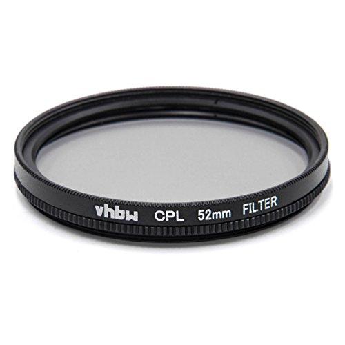 Filtro Universal polarizador CPL vhbw 52mm para cámara Voigtländer Nokton 35 mm 1.2 asph II, Voigtländer Nokton 35 mm F1,2.
