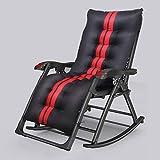 AYHa Barstuhl Schwerelosigkeit Stühle im Freien Liegestühle, Terrassen Chaise Lounges, komfortabel Ergonomische faltbare Einstellbare Max Last 150Kg Liegender