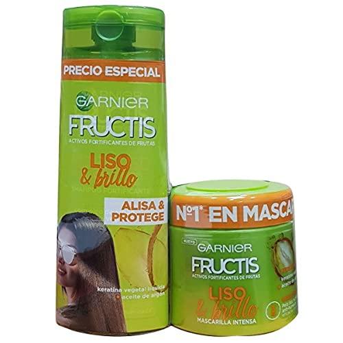 Garnier FRUCTIS MASCAR 300ML+CHP 250 LISO 300 ml