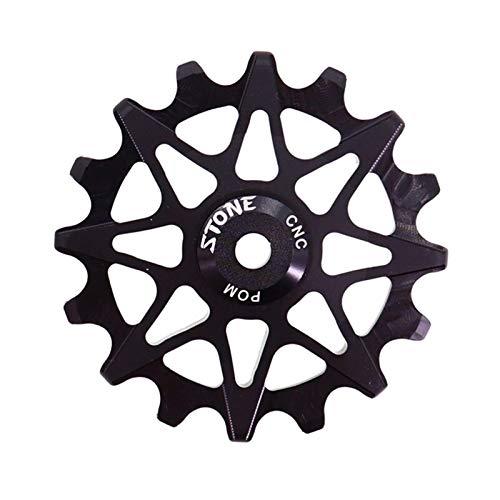 WYJW Rueda de polea Guía de Engranajes Roller Jockey 10t 12t 14t 16t Cojinete Road MTB Bike Desviador Trasero para M9000 (Color: 16 Negro Hueco)