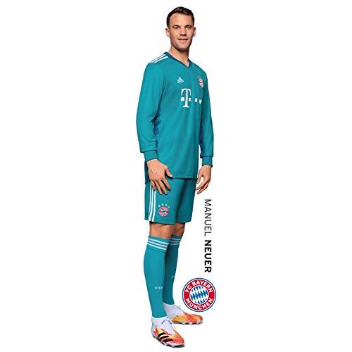 K&L Wall Art Wandsticker, Wandtattoo, Aufkleber, Poster selbstklebend - FC Bayern - Manuel Neuer (21x90 cm)