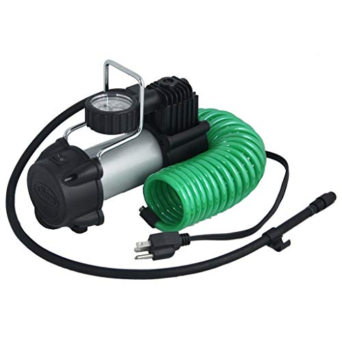 Slime 40045 Direct Drive 120V Tire Inflator with Wall Mount